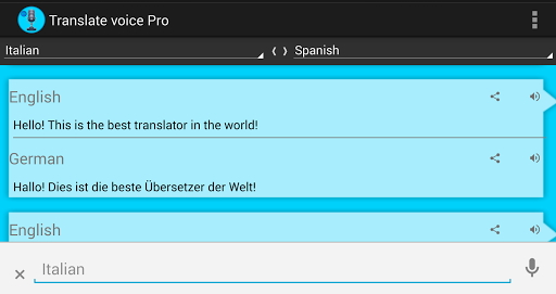 Translate voice – Pro v10.3