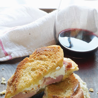 Three-Cheese Grilled Cheese.