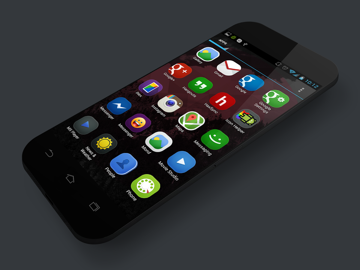 MOND - Launcher Theme - screenshot