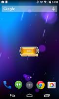 Screenshot of [Battery Theme] Bubbles Orange