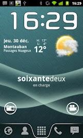 Text Battery Widget Screenshot 2