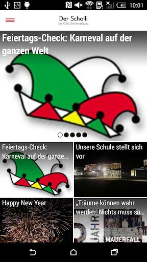 Der Scholli GSG Schülerzeitung