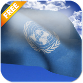 UN Flag Live Wallpaper Free