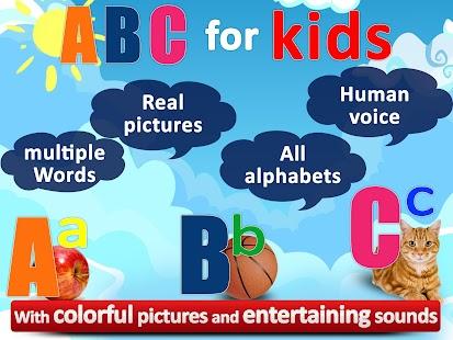 ABC for Kids All Alphabet Free