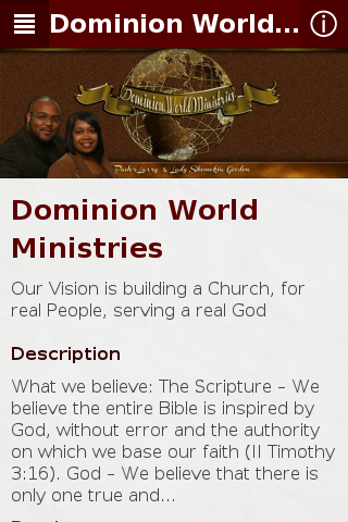 Dominion World Ministries AZ