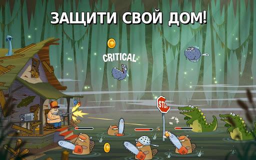 Swamp Attack для планшетов на Android