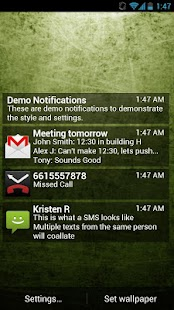 Lock Screen Notifications - screenshot thumbnail