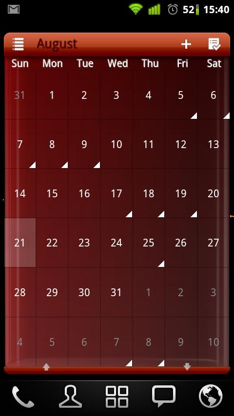APW Theme Red Wine- screenshot