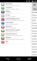 Screenshot of White Rose Credit Union Mobile