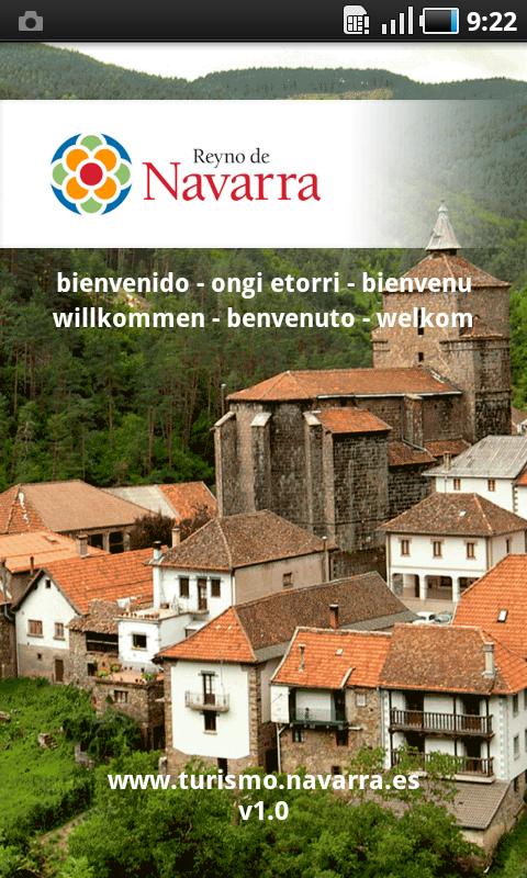 Turismo Navarra - App Oficial: captura de pantalla