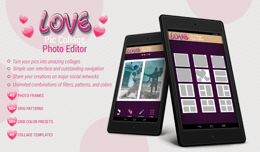 玩攝影App 愛圖片 拼貼 照片 編輯 - 美女圖片免費 APP試玩
