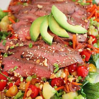 Spicy Thai Steak Salad.