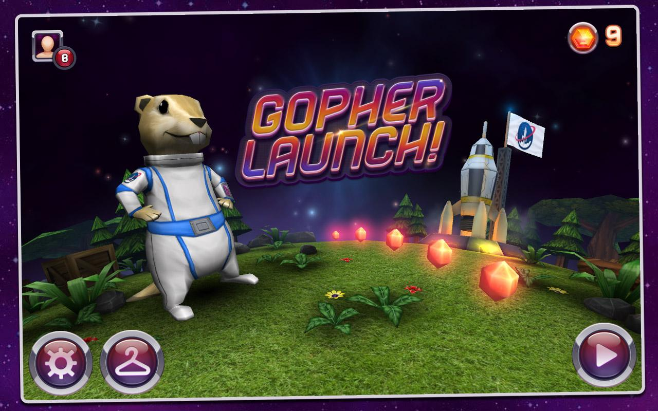 Gopher Launch - screenshot