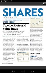 Investors Chronicle- screenshot thumbnail