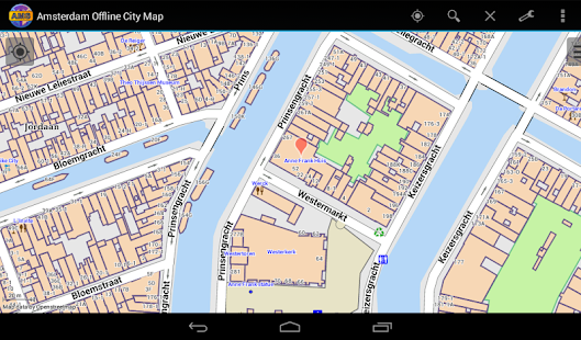 Amsterdam Offline City Map- screenshot thumbnail