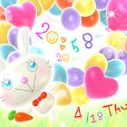 Balloon Rabbit LWP icon