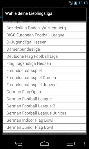 美式足球德國