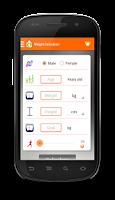 Screenshot of Weight Loss Calculator