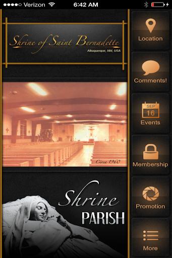 Saint Bernadette Shrine