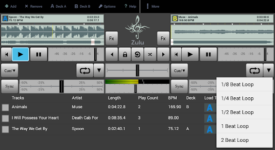 Zulu DJ Mixer Free- screenshot thumbnail