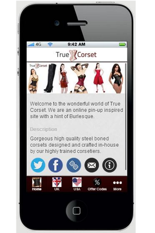 True Corset- screenshot