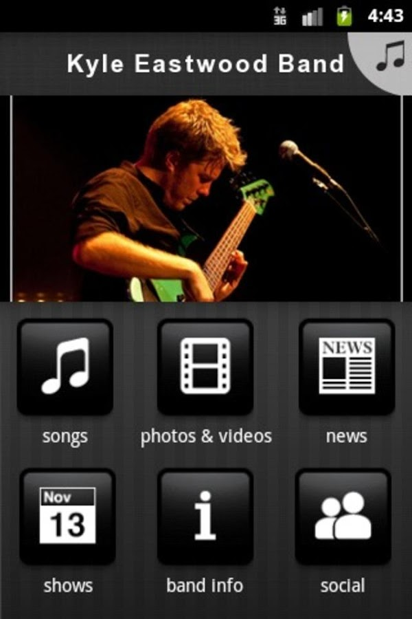 Kyle Eastwood Band - screenshot