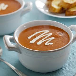 Sunny's Creamy Ranch Tomato Soup.