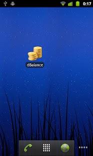 dBalance - screenshot thumbnail