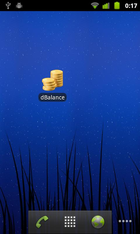 dBalance - screenshot