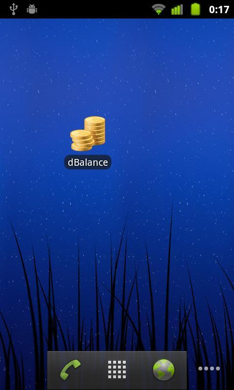 dBalance - screenshot