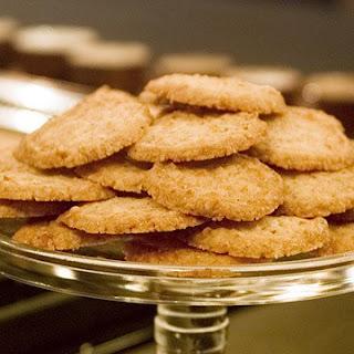 Sesame Coconut Cookies.