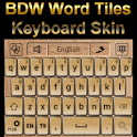 Word Tiles Go Keyboard Skin icon