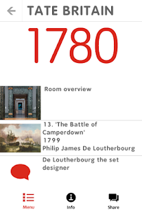 Tate Britain Mobile Guide - screenshot thumbnail