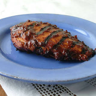 Honey Barbecued Chicken Breasts.