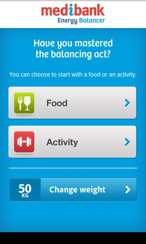 Medibank Energy Balancer- screenshot