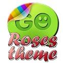 Roses theme Go SMS Pro logo