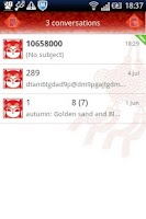 Screenshot of Easy SMS  Chinese Knot theme