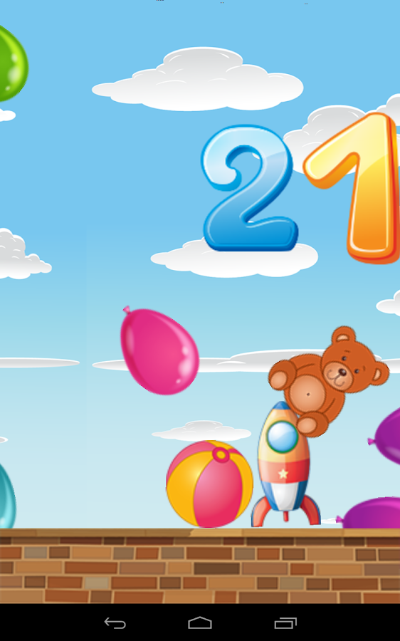 Baby Balloons Japanese Numbers- screenshot