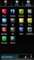Screenshot of BigDX Slick Launcher Theme