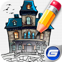 Learn to Draw House, Castle icon