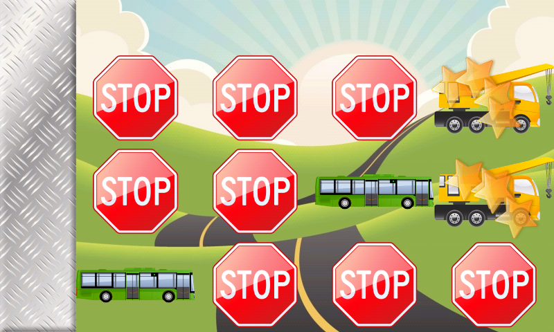 Vehicles and Trucks for Kids - screenshot