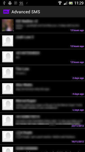 Advanced SMS