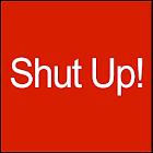 Boton Callate en Ingles icon