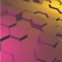 Honeycomb 3D Live Wallpaper icon