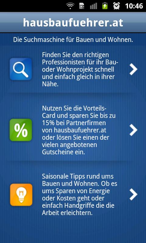 Hausbauführer- screenshot