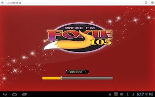 Screenshot of Foxie 105 WFXE