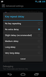 External Keyboard Helper Pro- miniatura screenshot