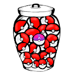 Pokeballs and one Masterball