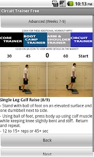 Full Body Circuit Trainer Free - screenshot thumbnail
