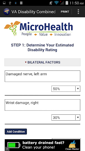VA Disability Calculator